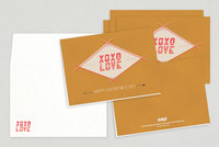 Camp Love Valentine's Day Cards Template
