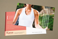 Wellness Center Postcard Template