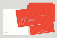 Cute Typographic Valentine's Day Card Template
