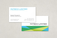Colorful Technology Business Card Template