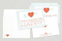 Sweet Sentiments Valentine's Day Cards Template