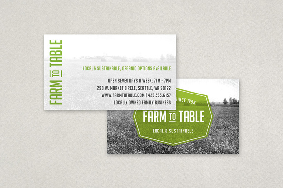 Sustainable food business card template inkd sustainable food business card template colourmoves