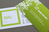 Marketing Firm Business Card Template