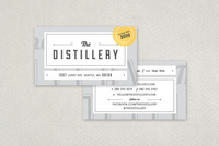 Upscale Bar Business Card Template