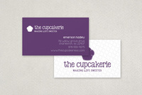 Independent Bakery Business Card Template