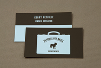 Pet Hotel Business Card Template