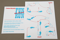 Benefit Walk/Run Postcard Template