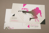 Martial Arts Postcard Template