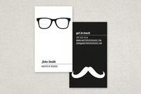 Disguise Business Card Template