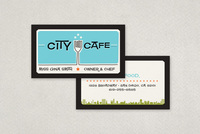 Retro Restaurant Business Card Template