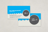 Retro Classic Business Card Template