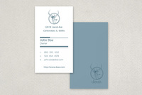 Contemporary Stationery Business Card Template