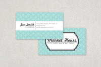 Nautical Bed and Breakfast Business Card Template