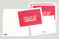 Charming Artistic Valentine's Day Cards Template