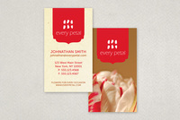 Stylish Florist Business Card Template