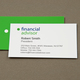 Versatile Financial Advisor Business Card Template