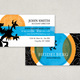 Investment Firm Business Card Template
