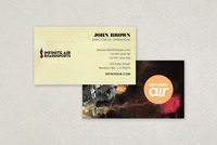 Snowboard Apparel Business Card Template