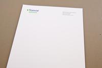 Versatile Financial Advisor Letterhead Template