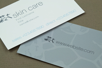 Elegant Skin Care Business Card Template