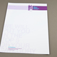 Marketing Firm Letterhead  Template