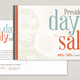 President's Day Sale Postcard Template