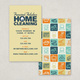Cheery Homecleaning Business Card Template