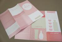 Pink Skin Care Brochure Template