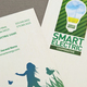Utility Cooperative Business Card  Template