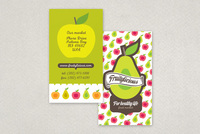 Graphic Farmers Market Business Card Template