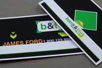 Financial & Banking Business Card Template