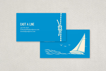 Nautical business card template inkd for Nautical business cards