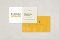 Elegant Hardware Store Business Card Template