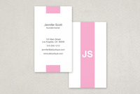 Classy Stripe Business Card Template