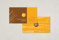 Medical Surgeon Business Card Template