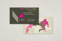 Martial Arts Business Card Template