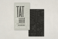 Tattoo Shop Business Card Template