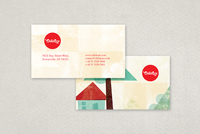 Daycare Center Business Card Template
