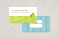 Graphic Real Estate Business Card Template