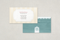 Baking School Business Card Template
