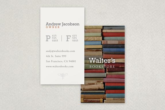 Bookstore business card template inkd bookstore business card template reheart Gallery