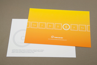 Marketing Firm Postcard Template