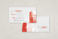 Modern Architecture Firm Business Card Template