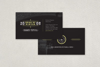 Rock Festival Business Card Template