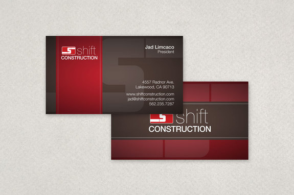 Construction company business card template inkd construction company business card template reheart Gallery