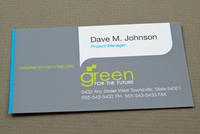 Future for Sustainability Business Card Template
