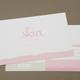 Pink Skin Care Postcard Template