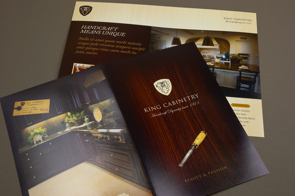 Elegant Cabinetry Brochure Template Inkd - Elegant brochure templates