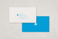 IT Services Business Card Template