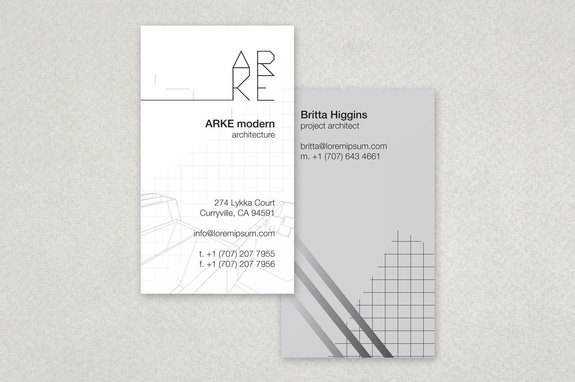 Architecture firm business card template inkd architecture firm business card template reheart Image collections